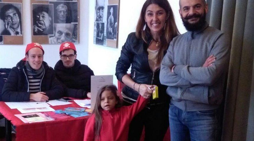 il nostro Presidente Cristina Smabruna, Natalie Bosco insieme a Alessandro Chierigato di ISV