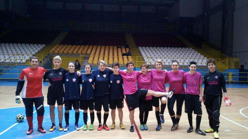 Squadra femminile Pavia Calcio