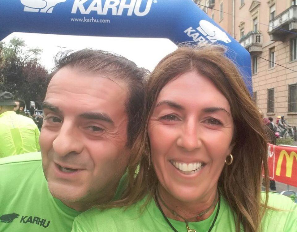 Il nostro Presidente Cristina Sambruna insieme al Sindaco Massimo Depaoli