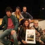 i protagonisti: Cristina Sambruna, Cristina Cotta Ramusino, Simone Ludovico, Manuel Marzitelli e Mario Campi